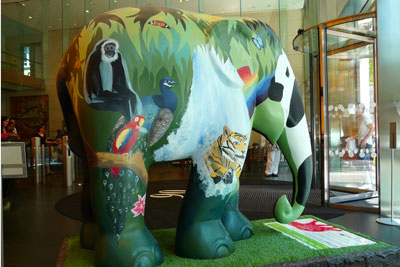 Olswang, the largest carbon reducer in the survey, auctioned 'Eco the Elephant' for a conservation charity (photo: Loz Flowers CC BY-SA 2.0)
