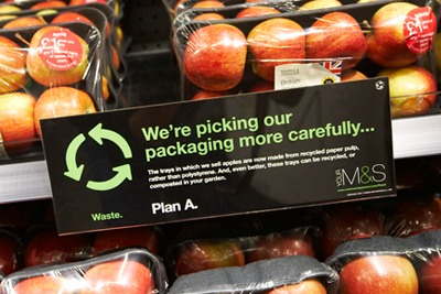 Waste reduction is among one of 180 Plan A commitments (picture: Marks & Spencer)