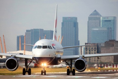 Flight on runway at City Airport (photograph: BA)