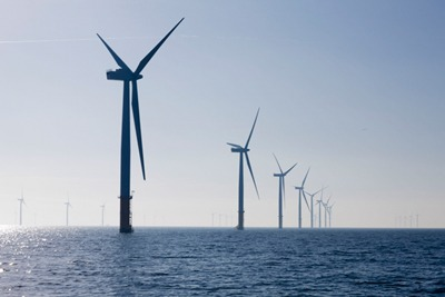 Offshore wind power costs could be cut be a third, according to two sector reports (photograph: Centrica)
