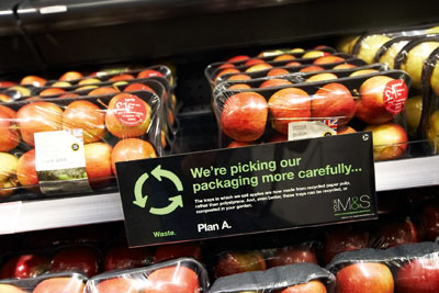 Marks & Spencer has met 138 of its 180 Plan A commitments (photo: M&S)
