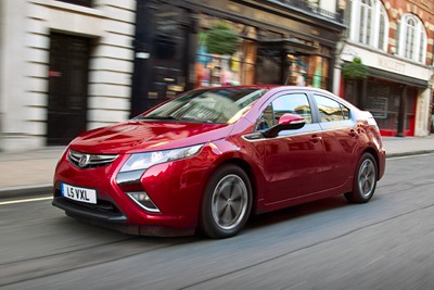 Vauxhaull Ampera: registrations of electric vehicles grew by 557% in 2011 (photograph: GM Company)