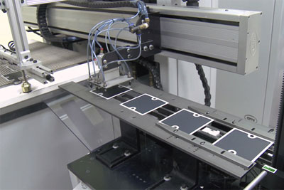 Manufacture of Bloom Energy's fuel cells (photo: Bloom Energy)