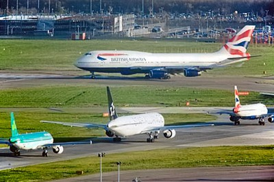 Heathrow airport: aviation industry and business leaders have met in London to step-up pressure on the government to publish its long-awaited draft sustainable aviation framework (photograph: Heathrow)