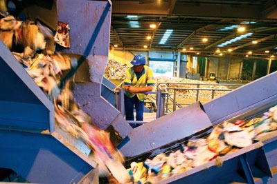 Fees for materials recovery facilities are not just £9 per tonne on average (photo: Sita)