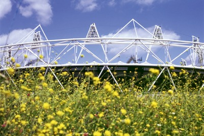 Failure to meet renewables targets is a 'significant hole' in London 2012's carbon reduction strategy (photo: Kathy Dewitt/Alamy)