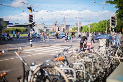 Air quality was measured in Amsterdam streets with low-emission zones (credit: Christian Lendl CC BY 2.0)