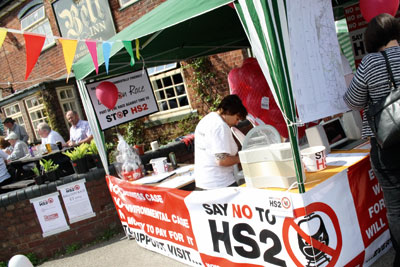 Legal challenges will be heard against the government's controversial HS2 railway (credit: Lichfield Live CC BY 2.0)