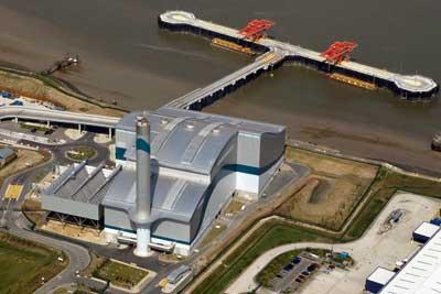 Cory's Belvedere incinerator, London. Credit: Cory