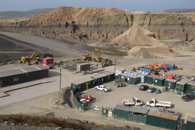 Quarrying is one of the activities to receive regulatory fee cuts (photograph: Paul Anderson, CC by SA 2.0)