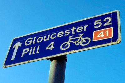 41 cycle route: An all-party enquiry into boosting cycling in the UK has been launched (photograph: Matt Buck, CC by SA 3.0)
