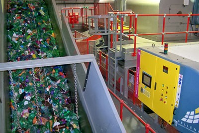 Veolia has opened its first plastic recycling facility in Rainham, Essex