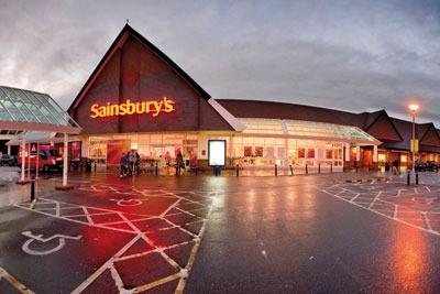Sainsbury's store. Credit: Andrew Hasson, Alamy