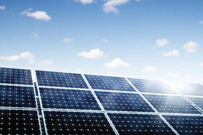 Solar panels. Credit: iStock