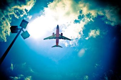 Aeroplane. Credit: Vox Efx