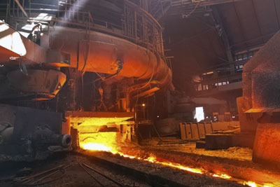 Blast furnace. Credit: Dreamstime