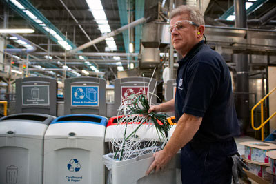 Half of Unilever's factories worldwide, including those in the UK, have already met its 2020 zero waste to landfill target