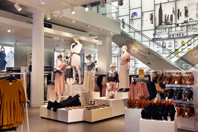 Clothing chain H&M is working with suppliers in developing countries to improve water use