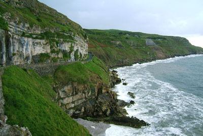 North Wales coastline. Credit: Pfala
