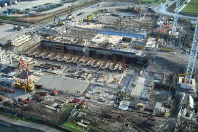 Cory's recycling site, Bexley London. Credit: Cory Environmental