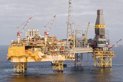 Elgin oil platform. Credit: Total UK