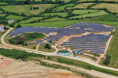 The Wheal Jane site in Truro will produce 1,437MWh of electricity a year. Credit: Paul Langrock