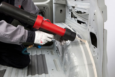 Henkel is yet to decide how to assess the impact of adhesives it sells to the car industry (photograph: Henkel)