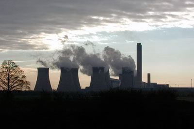 Drax is the UK's largest power station (photograph: Paul Glazzard, CC by SA 2.0)