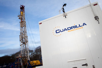 Cuadrilla Resoruces is the UK's only active shale gas developer (photograph: Cuadrilla Resources)