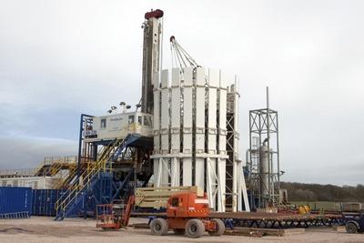 Fracking site in Blackpool. Credit: Cuadrilla