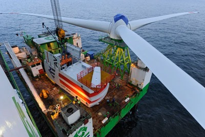 Turbine blades. Credit: REpower Systems, Jan Oelker