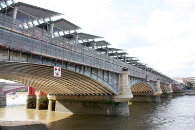 Blackfriers bridge. Credit: Balfour Beatty CSUK