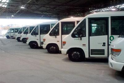 Camden Transport Services has a fleet of 250 passenger vehicles (photograph: Camden Transport Services)