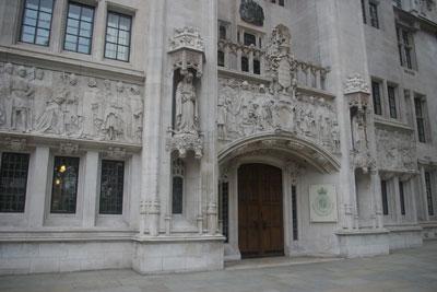 Supreme court in the UK. Credit: Tom Morris CC SA 3.0