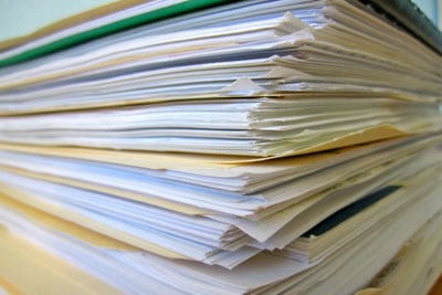 Stack of papers. Credit: All those details CC BY-ND 2.0