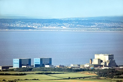 Hinkley Point nuclear power plant, Somerset (photograph: Richard Baker, CC by SA 2.0)