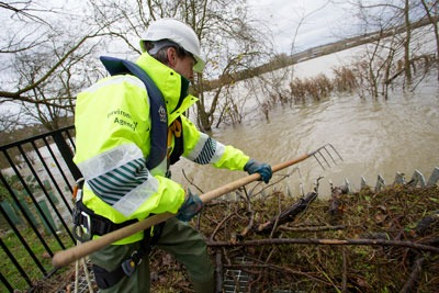 Flooding in the UK. Credit: Environment Agency