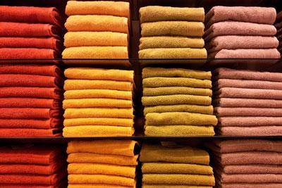 Colourful Towels. Credit: Dmitri Popov