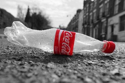 Coke bottle. Credit: Bev Goodwin