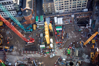 London's Crossrail: Green professionals body IEMA fears EIAs will be 'undermined' by EU reforms (photograph: M.Sobreira/Alamy)