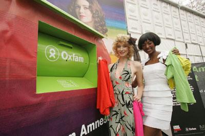 M&S clothes recycling scheme