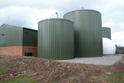 Ludlow AD tanks in Shropshire. Credit Biocycle