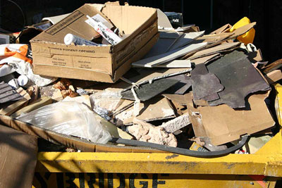 The government wants the construction industry to focus on reducing waste (photograph by: Si Griffiths, CC by SA 3.0)