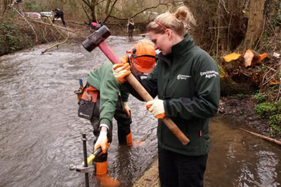 """The triennial review report described the Environment Agency as a """"professional, well-led organisation which has managed the recent budget reductions effectively' (credit: Environment Agency)"""