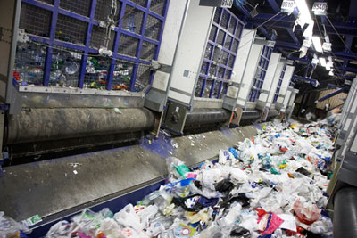 Plastics processing: industry organisations support WRAP's work to reduce waste in the supply chain (photograph courtesy of WRAP)