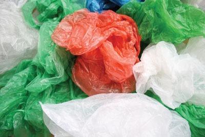 Plastic bags. Credit: Paul Mogford/ Alamy