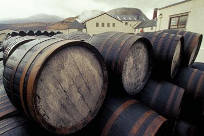 Fort William whisky distrillary. Credit: Fergus Mackay/ Alamy