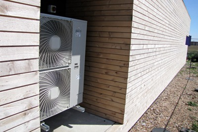 Improved heat pump design and installation increases energy efficiency savings (Photograph: 51% Studios Architecture, CC by SA 2.0)
