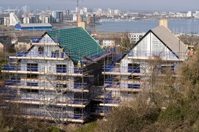 DCLG wants developers to be able to choose from a 'menu' of options to help them meet the government's zero carbon homes target (photograph: Christopher Ware/Dreamstime.com)