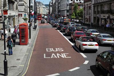 London street (photgraph: Martin Bond/Alamy)